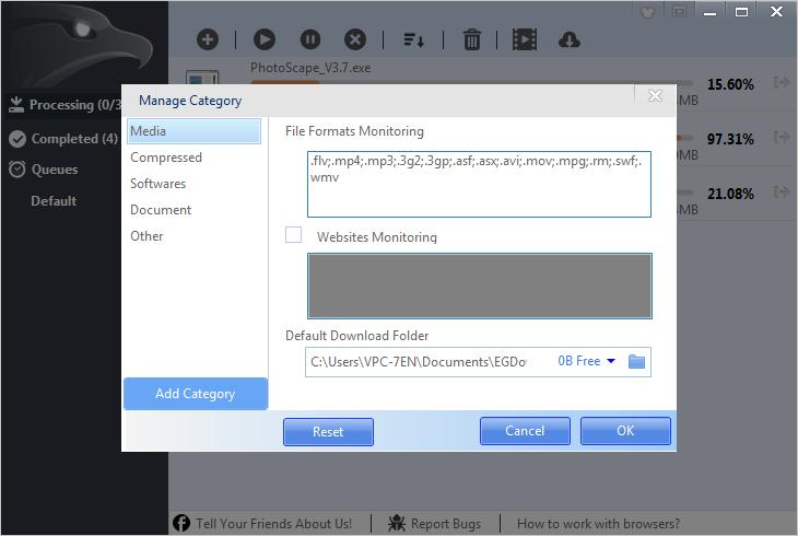 برنامج التحميل EagelGet أفضل بديل لـ Internet Download Manager IDM 1457-cached.png