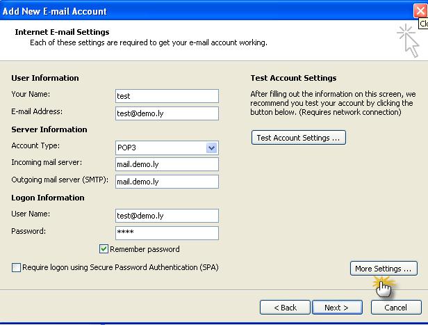 طريقة إعداد برنامج الاوت لوك 2007 2191-cached.png