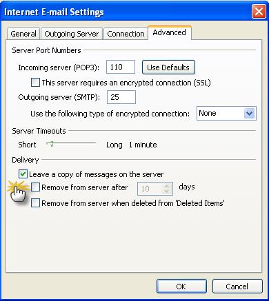 طريقة إعداد برنامج الاوت لوك 2007 2194-cached.png
