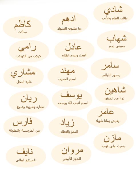 اسماء اولاد من القرآن 2019 واسماء جديدة جدا ونادرة مع معانيها اجمل اسماء الذكور 2709-cached.png