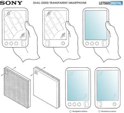 هاتف سوني القابل للطي قد يكون شفافًا 2827-cached.png