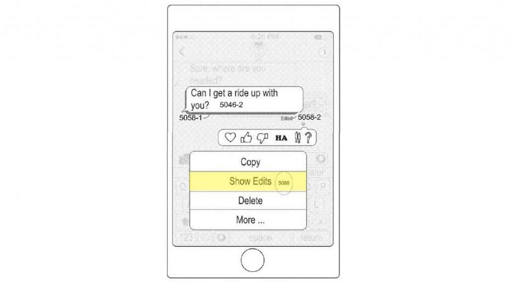 ابل تسجل براءة إختراع جديدة تتيح تحرير الرسائل المرسلة في تطبيق iMessage 5197-cached.png
