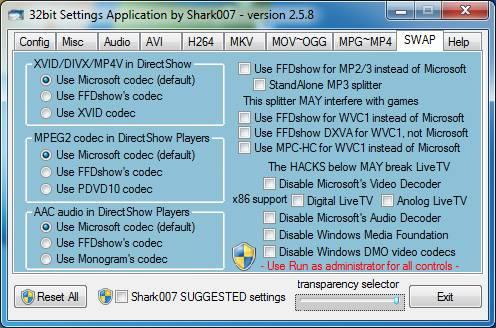 برنامج تشغيل صيغ الفيديو والصوت Advanced Codecs 10.5.9 76-cached.jpg