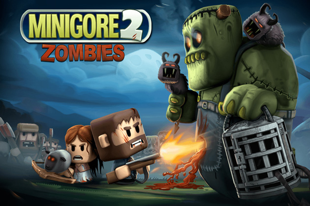 ���� ���� ������� ������ ��������� Android Minigore 2: Zombies