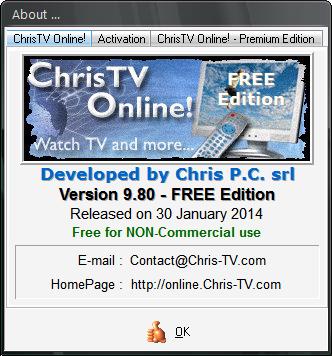 [ ������ ] : ���� ������� �������� ��� �������� �� ChrisTV Online Free Edition 9.80