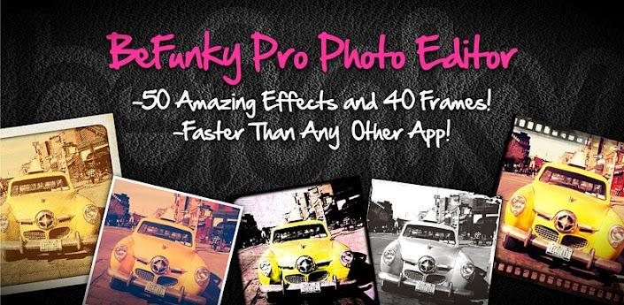 ���� ����� ������ ��������� ��� ����� ��������� BeFunky Photo Editor Pro v4.0.2