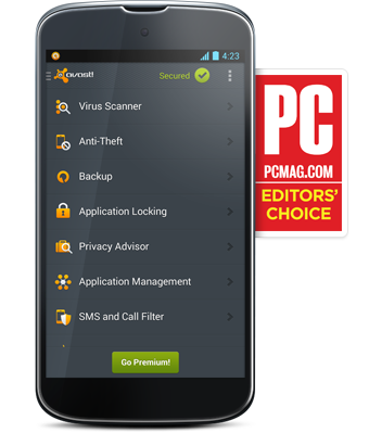 ����� avast! Free Mobile Security 3.0.7118 ����� ������ ����� ��������� �� ���������