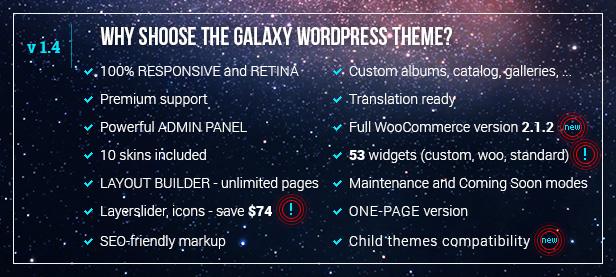 ����  The Galaxy WP - Responsive Multi-Purpose Theme