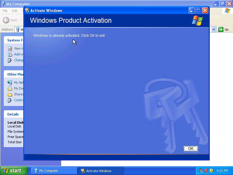 ����� �� ������� 32 �� ���� Windows XP Pro SP3 x86 Integrated MARCH 2014