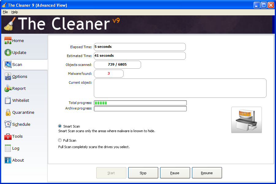 ����� The Cleaner 9.0.0.1128 ������ ��� ���� ��������� �� ������� ������