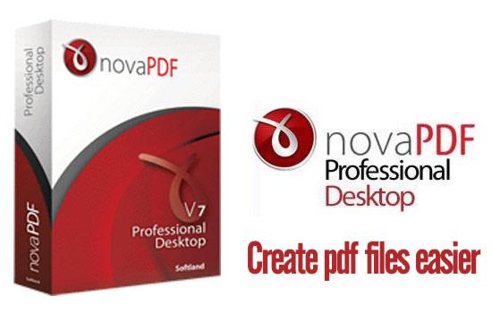 ������ novaPDF Pro Desktop 7.7.398 ������ ����� ��� PDF ������ ������� ��� �����