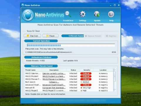 �����  NANO antivirus 0.28.0.58491 ���� ����� ������