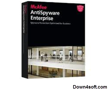 ����� ������ ���� ��������� ������� McAfee AntiSpyware Enterprise 8.5.0�