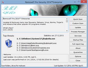 ������ ������� �� ���� ����� ��������� RemoveIT Pro SE 16.4.2014