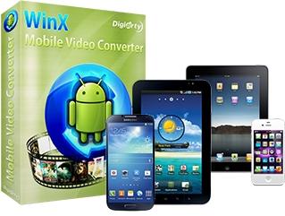 ������ ������� �������: WinX Mobile Video Converter 4.0.1
