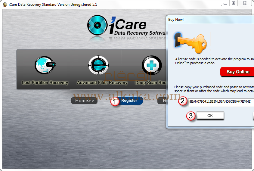 ����� ������ iCare Data Recovery Professional �������� ������� ��������