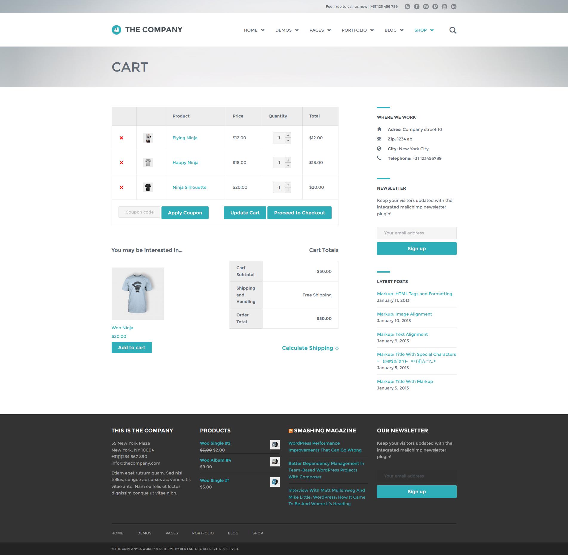 ����� ���� Download The Company - Responsive Multi-Purpose Theme (Wordpress) (Themefo